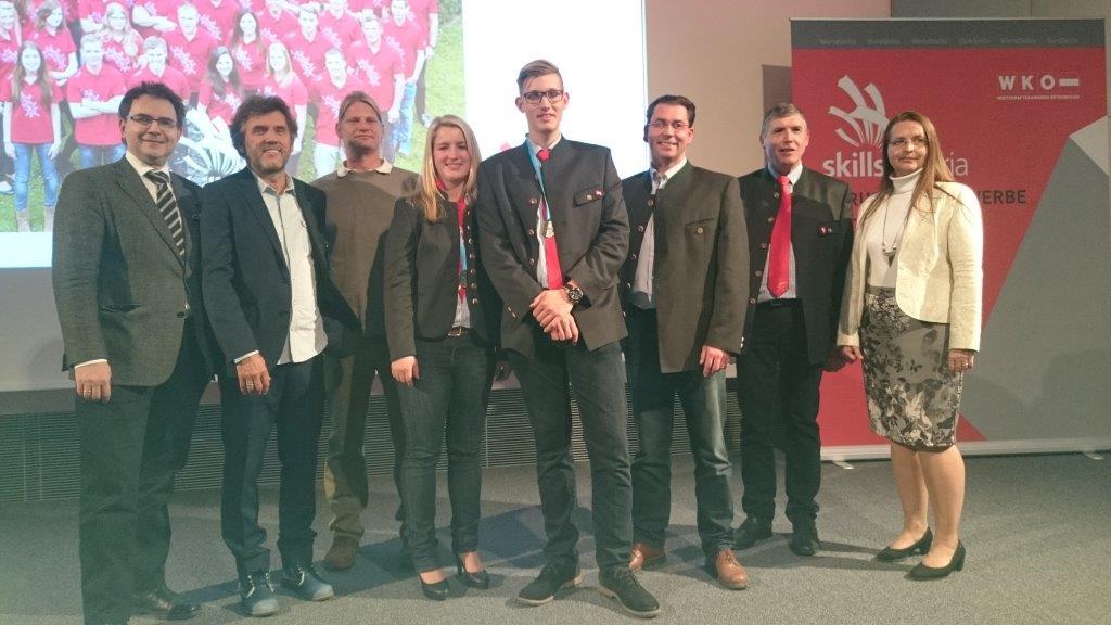 Katharina Strasser gewinnt bei Berufs-EM in Göteborg Silber bei den Landschaftsgärtnern